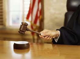 Judge with a Mallet